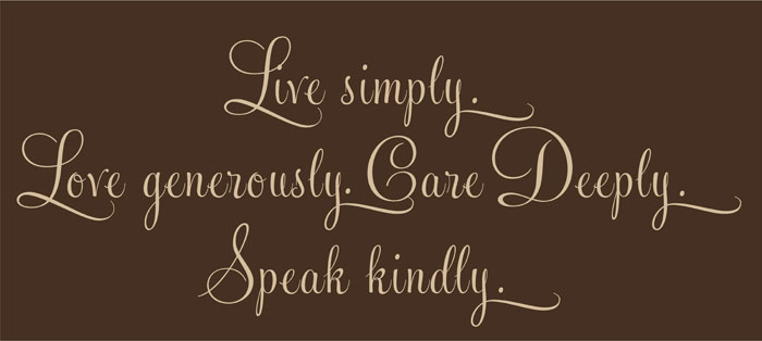Live-Simply-Love-generously-vinyl-wall-design